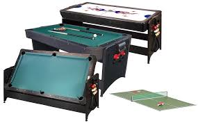 3 in 1 air hockey table 3 in one pool table table designs