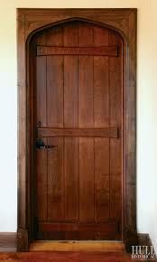 Knotty Alder Interior Door by Plank Door U0026 Classic X Brace Barn Door Window Covering