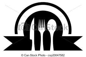 ustensile cuisine ustensile cuisine icône silhouette ustensile noir vecteur