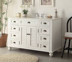 Adelina â Inch Antique White Sink Bathroom Vanity Marble - White vanities for bathrooms