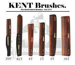 Sisir Kent mr pompadous pomade on kent brush made comb 20t 82t