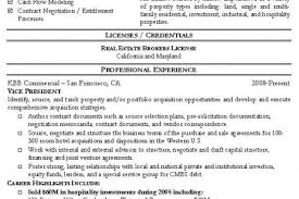 Sample Real Estate Resume by Real Estate Salesperson Resume Sample Reentrycorps