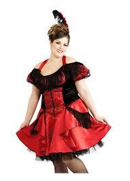 Burlesque Halloween Costumes Size Western Saloon Burlesque Costume