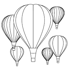air balloon festival coloring pages coloring sky