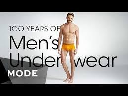 men s 100 years of fashion men s underwear glam com youtube