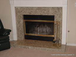 Hearth Cabinets Granite Fireplace Hearth Kitchen Traditional With Dark Cabinets
