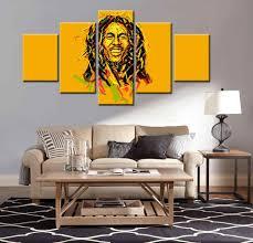 bob marley home decor bob bob marley wall art canvas marley redemption song lyrics vinyl