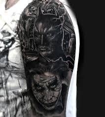 100 batman tattoos for men superhero ink designs