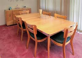 Quality Dining Room Tables A Birch Heywood Wakefield Dining Room Set C 1956 Originally A