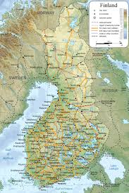 Map Of Germany With Cities by Finland Maps Maps Of Finland
