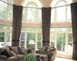 Curtains For A Large Window Curtains For Large Living Room Windows Soft Window Treatments For