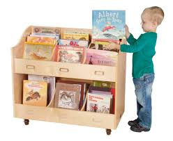 book storage for kids with wheels so it is easier to move it