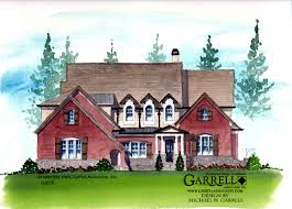 oak manor house plan front elevation master down plans house