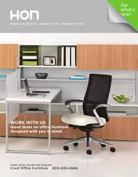 Office Furniture Brochure by Hon Office Furniture Catalog 2012 By David Wolf Issuu