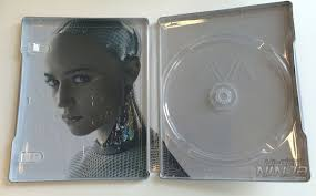 ex machina blu ray steelbook italy hi def ninja pop