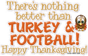 football happy thanksgiving