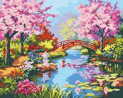 Garden Wall Decoration by Painting Garden Wall Promotion Shop For Promotional Painting