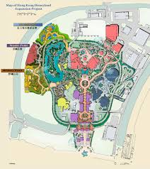 Disney Resort Map Hong Kong Disneyland Resort Maps Hotels Theme Parks Ticket