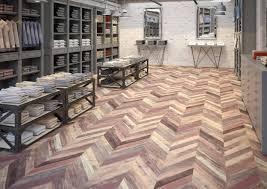 Ac6 Laminate Flooring Laminate Flooring Chevron Multicolor