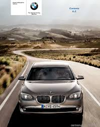 bmw 750li xdrive 2010 f01 owner u0027s manual