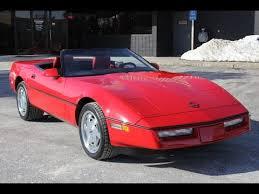 1989 corvette convertible 1989 chevrolet corvette convertible for sale