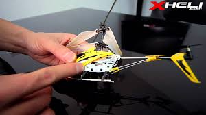 s107 tutorial how to set up a 3 channel rc helicopter youtube