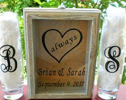 Heart Shaped Sand Ceremony Vase Set Sand Ceremony Etsy