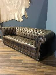 Vintage Leather Chesterfield Sofa Vintage Leather Chesterfield Sofa In Brown Robinson Of