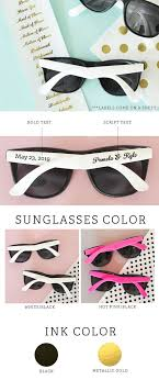 personalized sunglasses wedding favors amazing personalized sunglasses wedding favors 8 sheriffjimonline