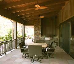 Outdoor Patio Fans Wall Mount by Bright Brinkmann Smoke N Grill In Sunroom Traditional With Sunroom
