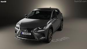 lexus nx 2017 360 view of lexus nx hybrid 2017 3d model hum3d store