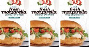 fresh mozzarella comes to wendy u0027s in new chicken sandwich and