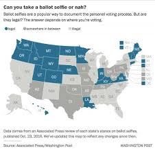 Federal Circuit Court Map Yes Your Ballot Selfie Still Might Be Illegal Sorry The