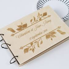 personalized wedding albums book personalized wedding guest book rustic wedding gift wedding