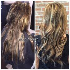 Thin Hair Extensions Before And After by Salon Palm Harbor Photo Gallery Pictures