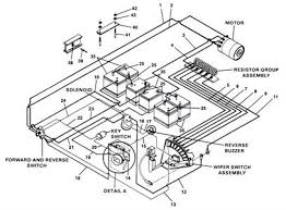 36 volt ez go golf cart wiring diagram wiring diagram and