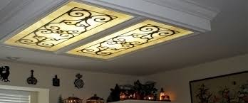 diy fluorescent light covers kitchen fluorescent light panels rapflava