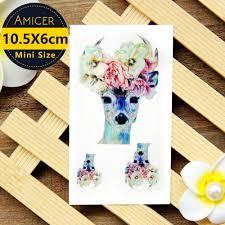 table de tatouage online get cheap cerfs et fleurs de tatouage aliexpress com