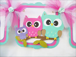 baby owl baby shower decorations owl home decor