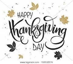 vector lettering thanksgiving vector photo bigstock