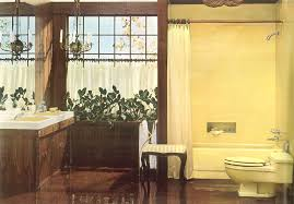 Decorating A Yellow Bathroom Color History And Ideas From Five Five Fixture Bathroom