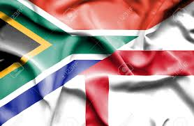Flag Og England Waving Flag Of England And South Africa Stock Photo Picture And