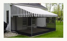 screens for patio awnings kohler awning retractable awning with