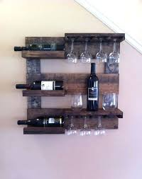 Bakers Rack With Wine Glass Holder Wine Rack Lighted Hanging Wine Rack With Glass Storage Black