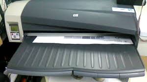 prueba de impresion plotter hp 111 youtube