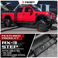 Ford F250 Truck Wheels - rbp wheels 89r assassin ii in gloss black machined on a lifted
