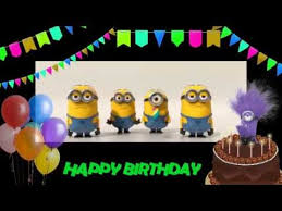 happy birthday to you minions birthday song youtube funny a