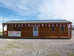 graceland side porch cabin