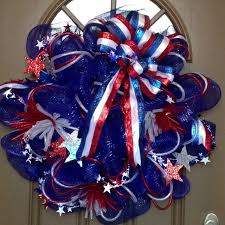 4th of july wreaths 120 best 4th of july wreaths images on patriotic