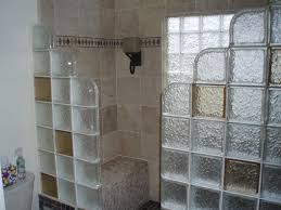 glass block designs for bathrooms fantastic glass block shower enclosures decorating ideas gallery